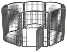 New listing Portable Puppy Playpen Dog Pen Pet Exercise Indoor Outdoor Play Yard Enclosure