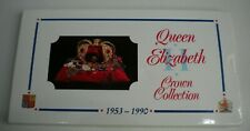 More details for queen elizabeth ii crown collection 1953-1990 royal mint eight coin pack