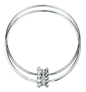 Bracciale Morellato Insieme SAKM84 SAKM91 Acciaio Bracelet Rigido Donna Zirconi