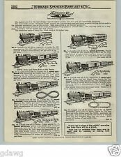 1919 PAPER AD American Flyer Toy Trains Set Hummer #53 #54 #15 #13 Cast Iron