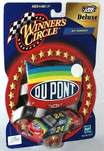 Winners Circle Jeff Gordon #24 Dupont Deluxe Collection Hood 2000 Magnetic NIP