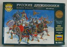 Zvezda 8001 Russian Knights XIII-XIVc AD Complete on Sprues