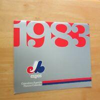 MONTREAL EXPOS  1983  BIG WALL CALENDAR  Gary Carter Tim Raines Andre Dawson ETC