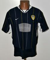 LEEDS UNITED ENGLAND 2003/2004 AWAY FOOTBALL SHIRT JERSEY NIKE SIZE L ADULT