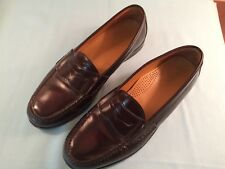Cole Haan Men's Burgundy Pinch Penny Loafers Size 10.5D