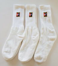 VTG 90's NIKE SUPREME COURT TENNIS SOCKS SAMPRAS AGASSI FEDERER RARE OG NEW
