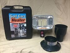 Golf Cart Heater, Automatic Ignitor  stainless burner, cup holder & base, NEW