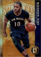 2015-16 Panini Gold Standard Pelicans Basketball Card #15 Eric Gordon /299
