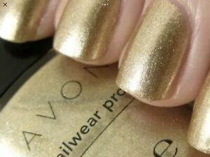 2 x Avon nailwear pro nail enamel Golden Vision, brand new and boxed, fab colour