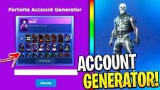 Rare fortnite *SKINS* Account generator