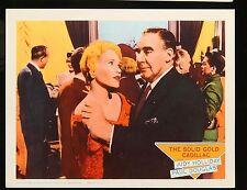 "The Solid Gold Cadillac Judy Holiday ORIGINAL 1956 MOVIE LOBBY CARD 11"" x 14"