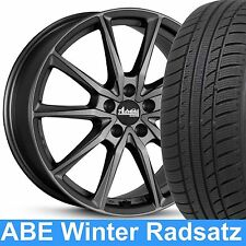 """18"""" ABE Advanti Winterräder 245/45 Winterreifen NEU für VW Tiguan I 5N"""