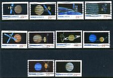 US #2568-2577 ~29¢~ SPACE EXPLORATION ~ Complete Used Set Of 10 ~ Free Shipping!