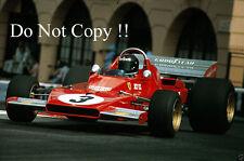 Jacky Ickx Ferrari 312 B3 Monaco Grand Prix 1973 Photograph 1