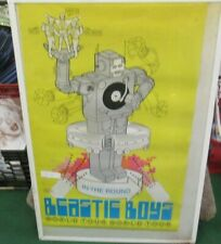 Beastie Boys Poster New 1998 Rare Vintage Collectible Oop original