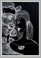 """Lovers"" Ink  29.5 cm x 21 cm"