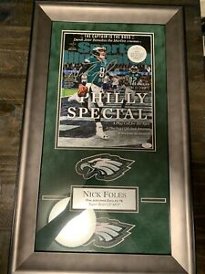 Nick Foles Philadelphia Eagles Autographed 11x14 Framed Sports Illustrated Cover