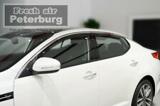 MIT for KIA Optima 4pcs In-channel Window Deflector Visors (for 2014)