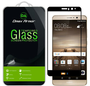 Dmax Armor for Huawei Mate 9 Tempered Glass Full Cover Screen Protector -Black