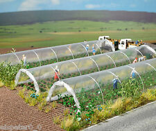Busch Clear Plastic Plant Tunnels 1399 HO & OO Scale
