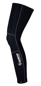 Zimco Cycling Biking Super Roubaix Winter Cycling Thermal Leg Warmers Black