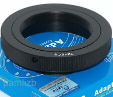 T-2 Lens Mount Adapter fits CANON EOS EF mount  camera , T2 , T 2  by   Pixco