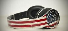Cover Adesiva per Cuffie Monster Beats by Dre Studio USA FLAG Nuova New Custom