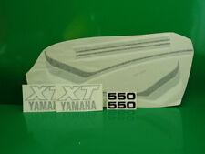 YAMAHA XT 550 SERIE ADESIVI MOTO ROSSA