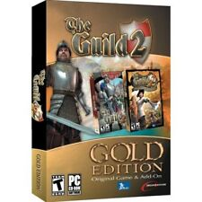 The Guild 2 Gold (PC DVD Game) Brand New & Factory Sealed, FREE US SHIPPING