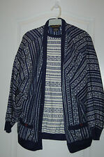 2 PIECE NYLON SHIRT SET BLUE  BLOUSE SIZE LARGE WILROY pull over EXCELENT casual