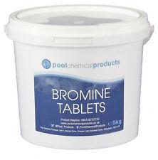 Bromine Tablets 5kg Swimming Pool Spa Hot Tub