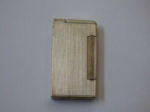 Dunhill Broadoboy Half Cap - Full Roller - Petrol Lighter - Silver Plated