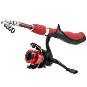 Ice/Boat Fishing Rod With Fishing Reel High Quality Carbon Fiber 1.4m Superhard