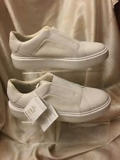 Geniune Leather GEOX RESPIRA Lether White Trainers Sz 7 New RRP 99