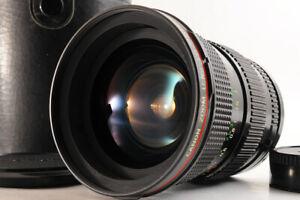 【NEAR MINT】CANON NEW FD 24-35mm F/3.5 L Wide Angle Zoom MF Lens FD Mount+Case JP