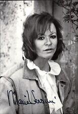 Marie Versini - Original Autogramm Autograph Portrait Film Foto (O-4679
