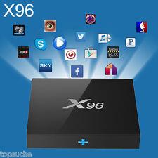 X96 Amlogic S905 4K*2K 8GB Android 6.0 Marshmallow TV BOX Quad-core IPTV Decoder