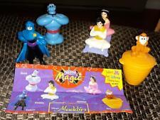 Disney Aladdin Nestle Magic US toy set/5 - Genie, Abu, Aladdin, Jasmine & Cassim