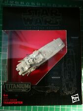 Star Wars The Black Series Transporter (14) Titanium Series