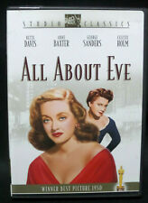All About Eve (Dvd, 1950) Bette Davis, Anne Baxter, George Sanders Authentic Usa