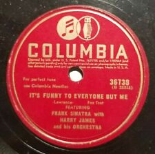 Frank Sinatra - It's Funny To Everyone But Me - Columbia - Jazz - 78RPM