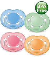 Avent - 6-18M - Free Flow - Extra Air Flow - Soothers / Dummies - Choose Colour