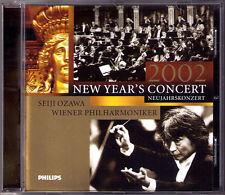 New Year's Concert from Vienna 2002 Seiji OZAWA Neujahrskonzert aus Wien CD 小澤征爾