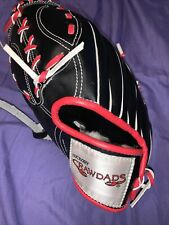 Hickory Crawdads Promo Right Handed Baseball Glove  kid size Left Handed Throw