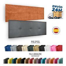 Cabecero de polipiel o tela antimanchas ACUALINE tapizado alta gama
