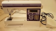 Husqvarna Viking Iris  Sewing Machine w/ cover, pedal,  and attachments