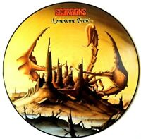MINT! THE SCORPIONS LONESOME CROW LP VINYL PICTURE PIC DISC