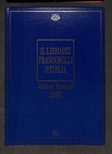 Il Libro dei Francobolli d'Italia 1991
