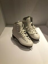 Jackson Glacier 520 Youth Size 13 Figure Skates white