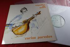 Carlos Paredes  ESPELHO DE SONS  - LP Philips 834319-1 Portugal 1987 autographed